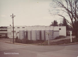 Vats at Growers' Winery building, 1977