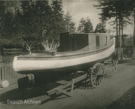 Boat built by returned WWI soldiers
