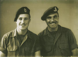 "Brothers Ghazi and Leslie ""Buster"" Underwood, WWII"