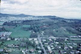 Aerial photograph of Christmas Hill
