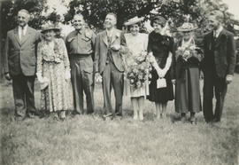 Wedding of Cyril Reginald George Pearson and Hilda Ogalvie