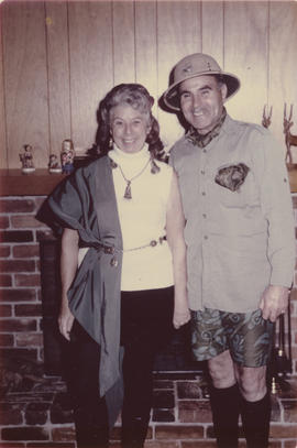 Emily and Leslie  Underwood in costume