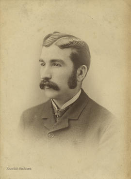 Mr. R.A. Anderson, teacher at Cedar Hill School