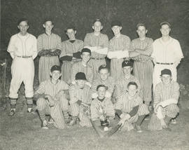 Victoria Van & Storage baseball team city champions, 1954