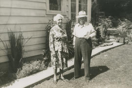 Alice May (nee Hogben) and Ernest Brownlow Underwood at Cultus Lake