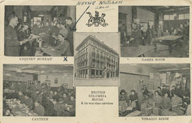 British Columbia House & its war-time services [postcard]