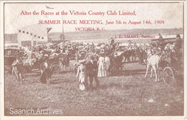 After the races at the Victoria Country Club Limited, Summer Race Meeting, June 5th to August 14t...