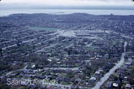 Aerial view [looking towards Hillside Mall and Lansdowne School]