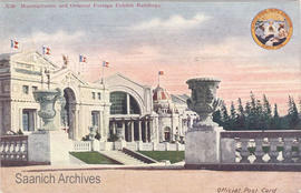 Manufacturers and Oriental Foreign Exhibit Buildings, Alaska-Yukon-Pacific Exposition, Seattle, 1909