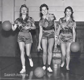 Victoria College, Vikings women's basketball team, 1958-59