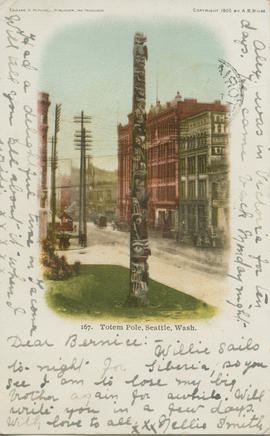 Totem Pole, Seattle, Washington