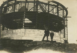[Dominion Astrophysical Observatory under construction]