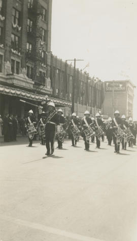Parade at Douglas and Fort Street