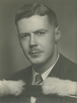 Graduation portrait of John Robb Tolmie Andrews