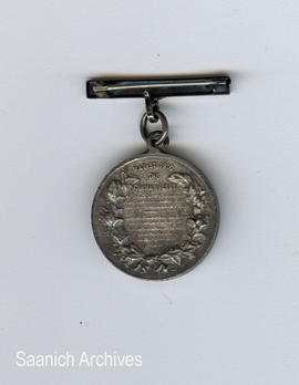 Battle of Jutland medal (back) awarded to Muggins