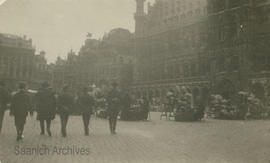 Brussels, First World War