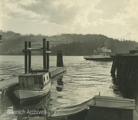 Boat and ferry dock, Brentwood Bay