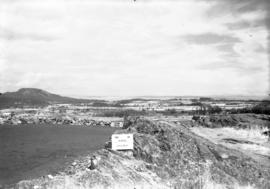 View from Mount Tolmie looking north, 1936