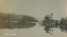 Boat on Brentwood Bay, 1919