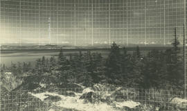 View from Mount Douglas looking towards San Juan Island, 1936