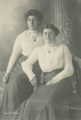 Irene Dawson and Belle Clark